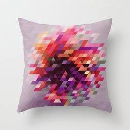 Cluster bir Throw Pillow