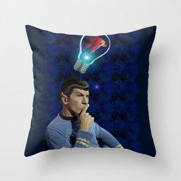 Always on his mind Throw Pillow