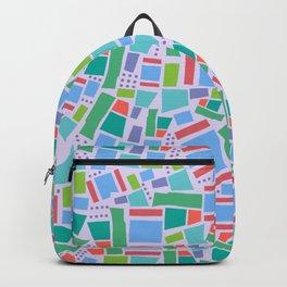 Shapes of Hackney - four sides Backpack
