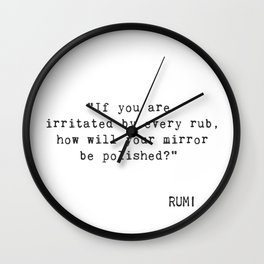 If you are irritated... Wall Clock