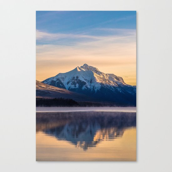 The Rising Mountain Canvas Print