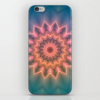 hippie iPhone & iPod Skins featuring Hippie Sun by Jellyfishtimes