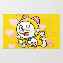 Dorami Love Rug