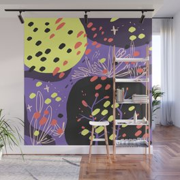 the night and the trees Wall Mural