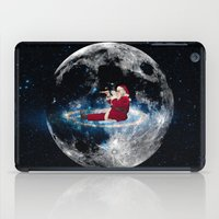 santa iPad Cases featuring Santa by Cs025