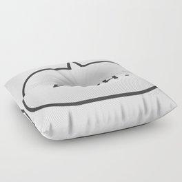 Bruh Floor Pillow