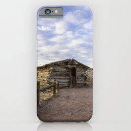 Wolfe Ranch - Arches National Park, Utah iPhone Case