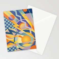 Graphic Abstraction Stationery Cards