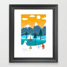 River Island Framed Art Print