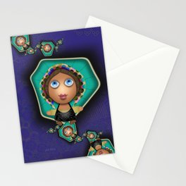 Souther Little Peasant Girls Stationery Cards