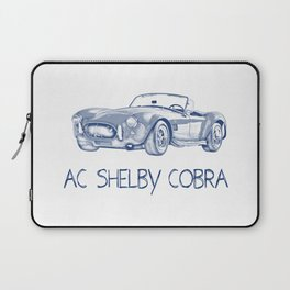 Pen drawing ac shelby cobra Laptop Sleeve