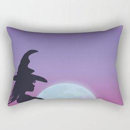 Halloween full moon Rectangular Pillow
