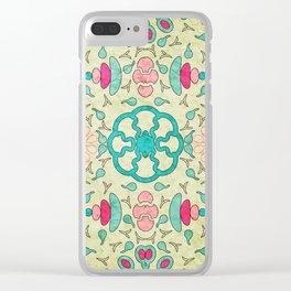 Colorful Mandala #04 Clear iPhone Case