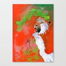 BEAST BRAVERY Canvas Print