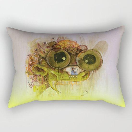 Weedy Playstation Frankenstein Rectangular Pillow