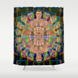 Gut Feeling, 2430t Shower Curtain