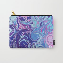Abstract Colourful Twists Carry-All Pouch