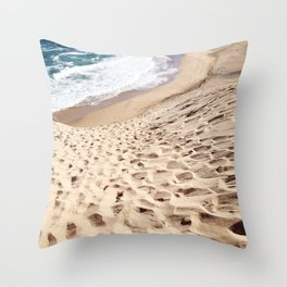 African Dune Beach Throw Pillow