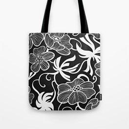 Paris 1928 - Floral Retro Vintage Tote Bag