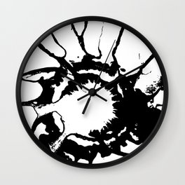 spill Wall Clock