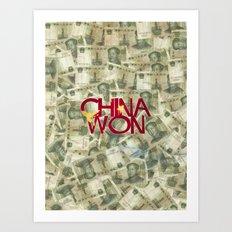 China Won Art Print