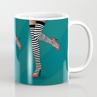erotic Mugs featuring sexy  by mark ashkenazi