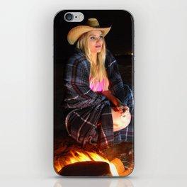 Western Blanket on the Beach iPhone Skin