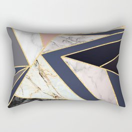 Marble Triangles P01 Rectangular Pillow