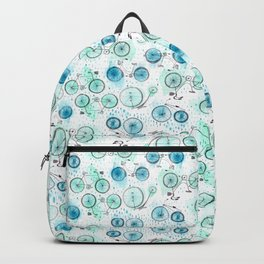 Bikes Pattern Backpack