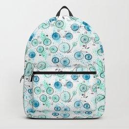 Bikes Pattern Backpack
