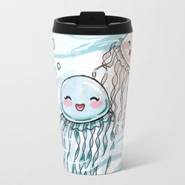 Cute jellyfishes Travel Mug