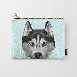 Husky // Pastel Blue Carry-All Pouch
