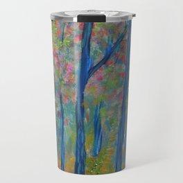 Impressionism Tree Forest, Modern Home Decor, Tree Art Travel Mug