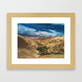 Mountains and Sky Framed Art Print