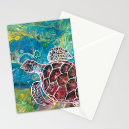Sea Turtle Dream Stationery Cards