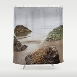 Cloudy Day At Moonstone Shower Curtain