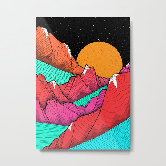 The islands and the sea Metal Print