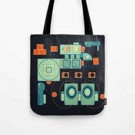 Word Machine Tote Bag