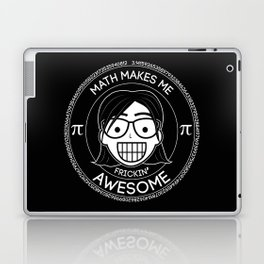 Frickin Awesome - Math Girl Laptop & iPad Skin
