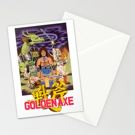 GOLDEN AXE Stationery Cards