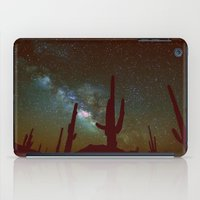 milky way iPad Cases featuring milky way by 2sweet4words Designs