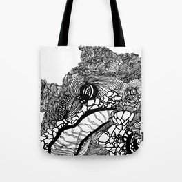 Whale #1 Tote Bag