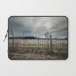Florida Cotton Fields  Laptop Sleeve