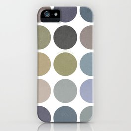 circles of color iPhone Case