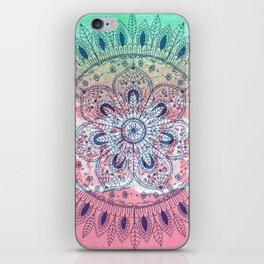 Summer beach bohemian mandala iPhone Skin