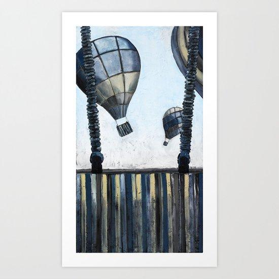 Cool Breeze Art Print