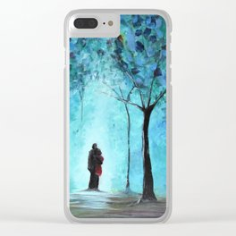 Forest of Light Clear iPhone Case