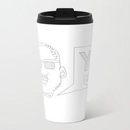 Greetings yo! Metal Travel Mug