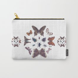 Mosaic of Bugs Carry-All Pouch