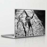 heavy metal Laptop & iPad Skins featuring heavy metal pepper by shveshki.istorii